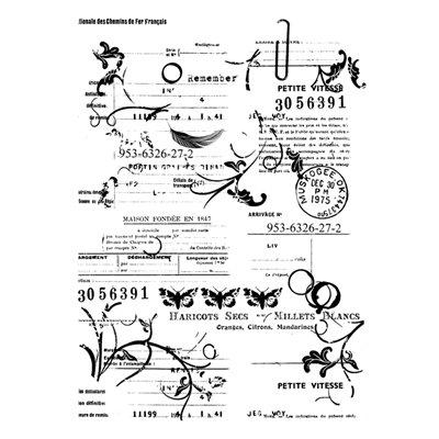 A7 stamp - Vintage letter - Rosalie collection