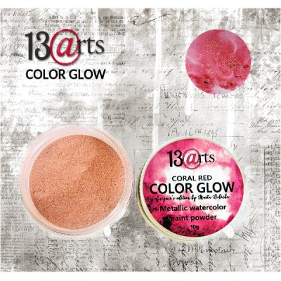 Color Glow - Coral Red