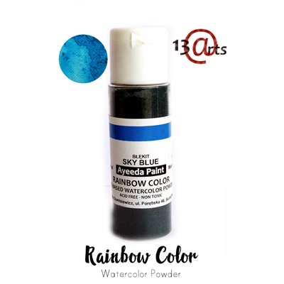 Rainbow Color - Sky Blue