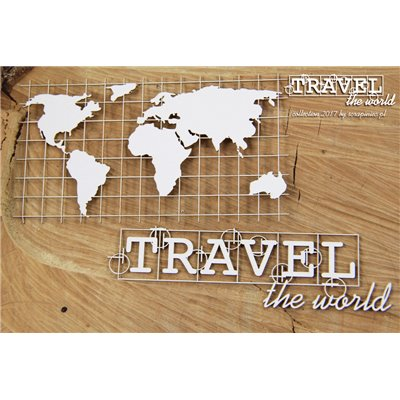 Travel the world - Map Eng