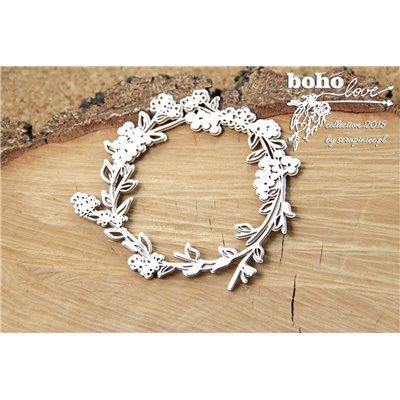 Boho Love - 2 layers frame