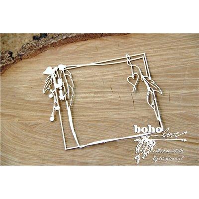 Boho Love - rectangle frame