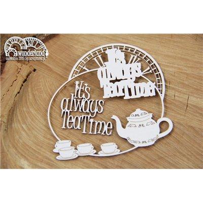 Wonderland - It's always tea time keret