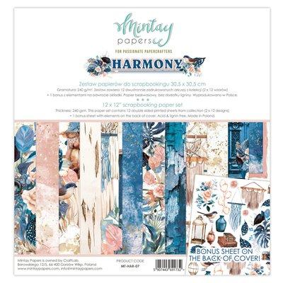 12 x 12 Paper Set - Harmony