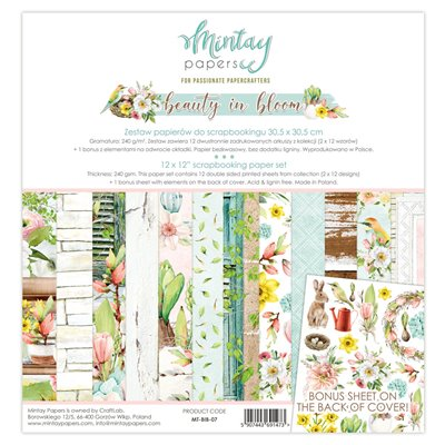 12 x 12 Paper Set - Beauty In Bloom