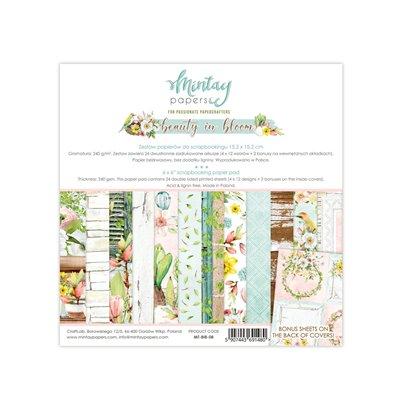 6 x 6  Paper Pad - Beauty In Bloom
