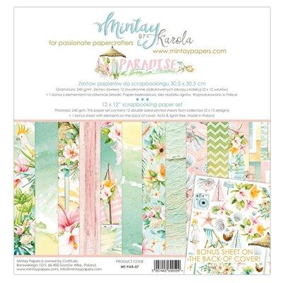 12 x 12 Paper Set - Paradise