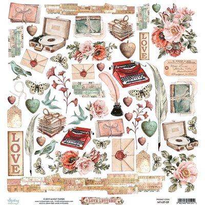 Elements 12 x 12 - Love Letters