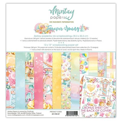 12 x 12 Paper Set - Forever Young