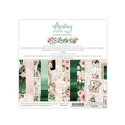 6 x 6  Paper Pad - Lady