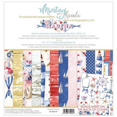 12 x 12 Paper Set - Marina