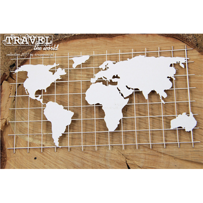 Travel the world - Map XL