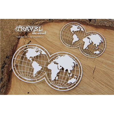 Travel the world - 2 globes