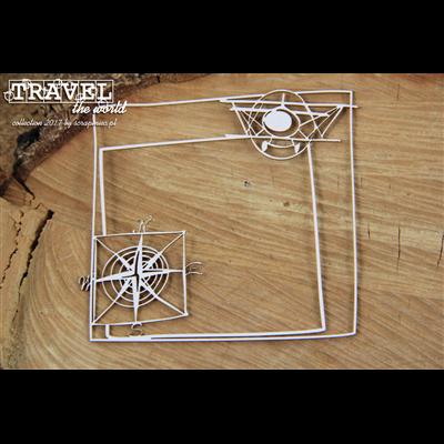 Travel the world - frame