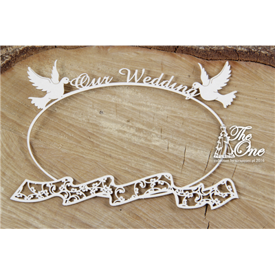 The one - Our Wedding - frame with scarf