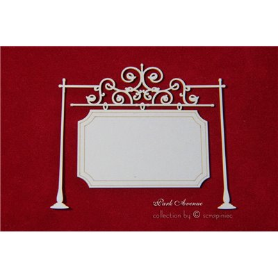 Park Avenue rectangle standing sign