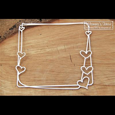 Mamma's heart - Big Square frame