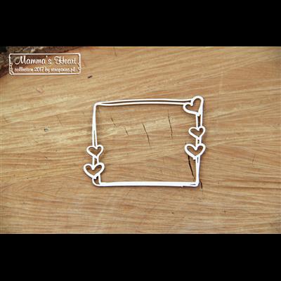 Mammas heart - Small Rectangle frame