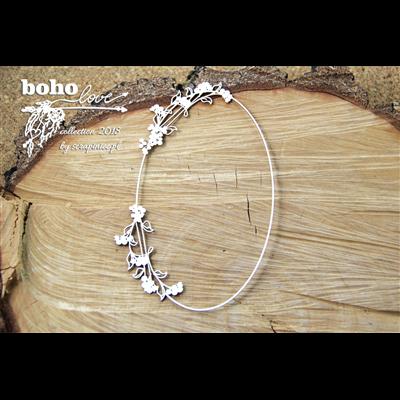 Boho Love - oval DL frame