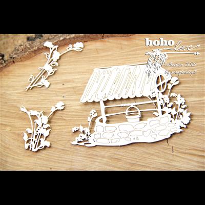 Boho Love - small well