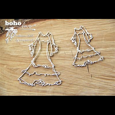 Boho Love - wedding dress