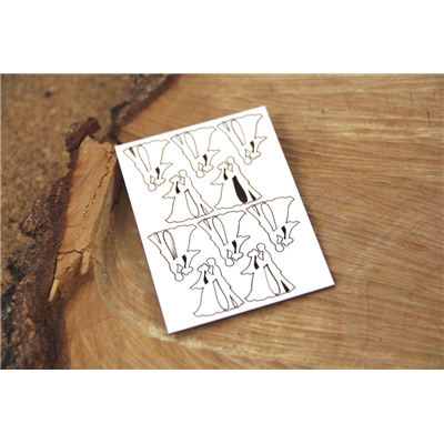 Boho Love - Micro Bridegroom 10 pieces