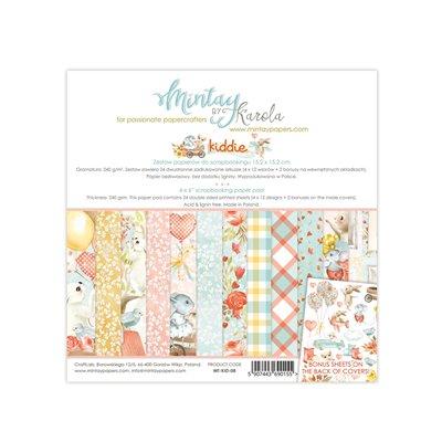 6 x 6  Paper Pad - Kiddie