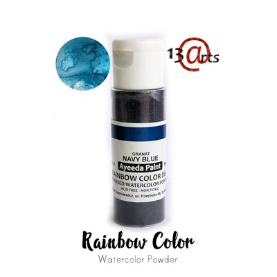 Rainbow Color - Navy Blue DUO