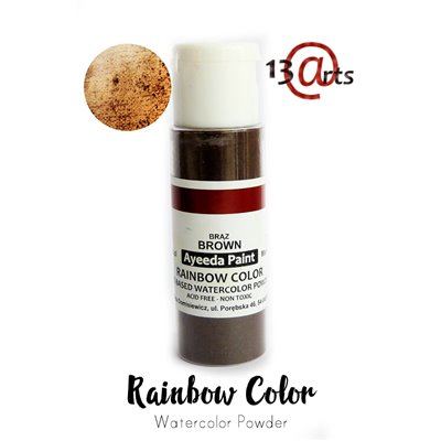 Rainbow Color - Brown