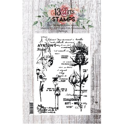 A7 stamp - Nature - Summer Rhapsody collection