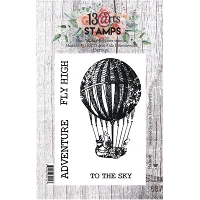 A7 stamp - Balloon - Under the Stars collection