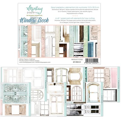 6 x 8 Window Book - elements for precise cutting