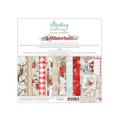 6 x 6  Paper Pad - Winterland