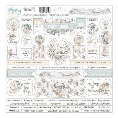 12 X 12 Cardstock Stickers - Precious Moment