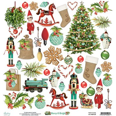 12 x 12 Elements Paper - Merry & Bright