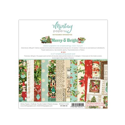 6 x 6  Paper Pad - Merry & Bright