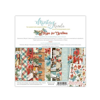copy of 6 x 6  Paper Pad - Home for Christmas