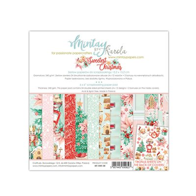 6 x 6  Paper Pad - The Sweetest Christmas