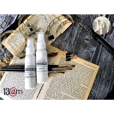 Ayeeda Mists Pastel - Pastel White