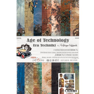 "Age of Technology - paper set 8""x12"""