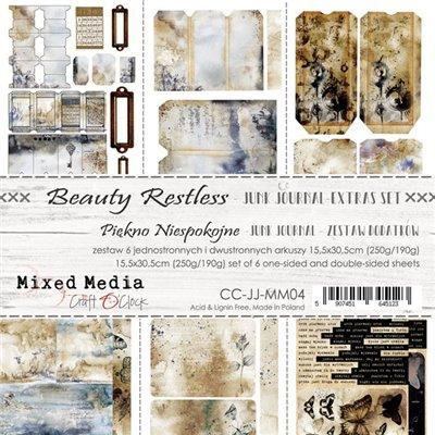 Beauty Restless - Junk Journal set of element sheets