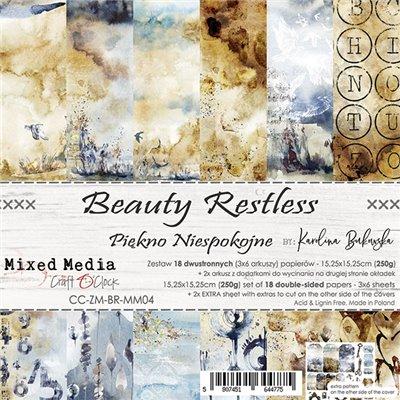 "Beauty Restless - paper pad 6""x6"""