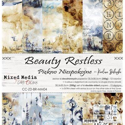 "Beauty Restless - paper set 12""x12"""