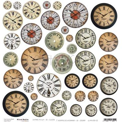 Clocks - element sheet