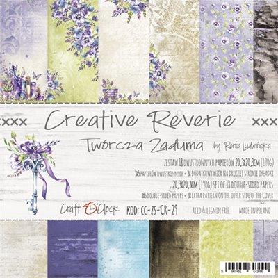 "Creative Reverie - paper pad 8""x8"""