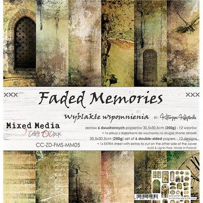 "Faded Memories - paper set 12""x12"""
