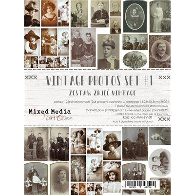 Vintage Photo Set 01- element sheet