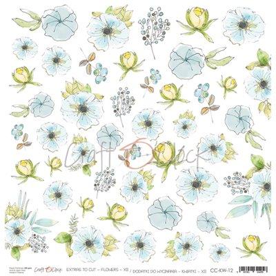 Flowers - XII element sheet