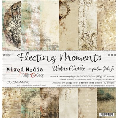 "Fleeting Moments - paper set 12""x12"""