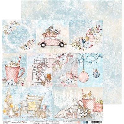 Frosty Sparking - element sheet - cards